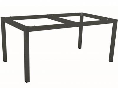 Stern Tischsystem: Alu Tischgestell 200 x 100 cm anthrazit  + freiwählbare Tischplatte