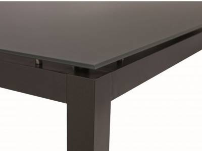 Stern Tischsystem: Alu Tischgestell 250 x 100 cm anthrazit + freiwählbare Tischplatte