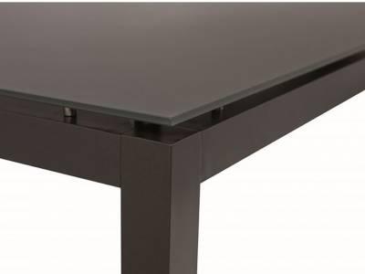 Stern Tischsystem: Alu Tischgestell 80 x 80 cm anthrazit + freiwählbare Tischplatte
