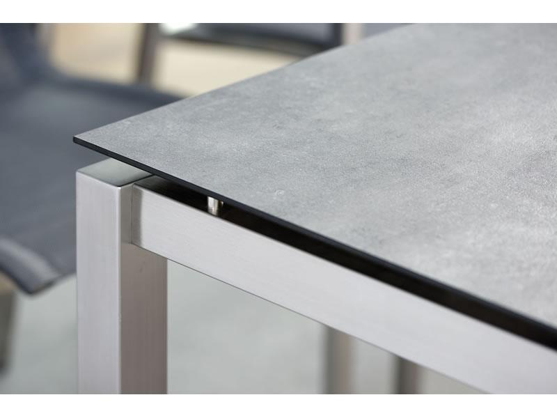 Stern Tischsystem Edelstahl Tischgestell 130 X 80 Cm Freiwahlbare