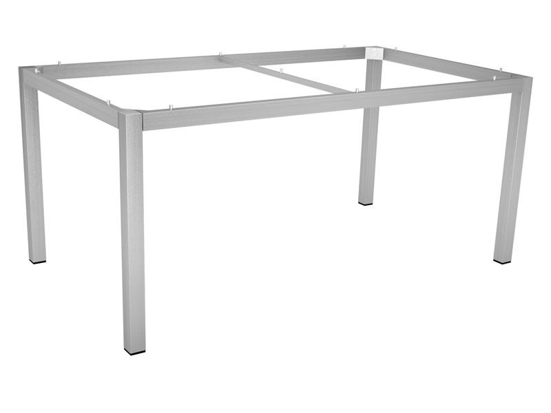 Stern Tischsystem: Edelstahl Tischgestell 160 x 90 cm + freiwählbare Tischplatte