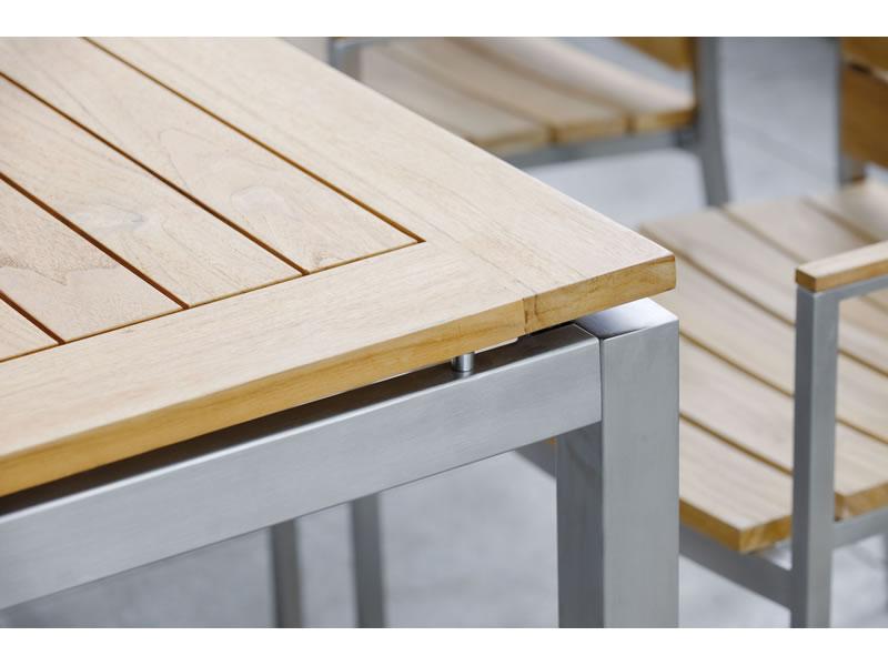 Stern Tischsystem Edelstahl Tischgestell 250 X 100 Cm