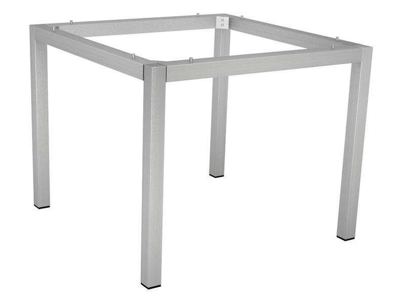 Stern Tischsystem: Edelstahl Tischgestell 80 x 80 cm + freiwählbare Tischplatte