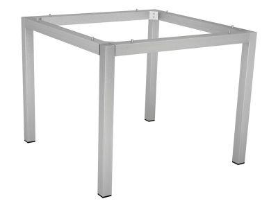 Stern Tischsystem: Edelstahl Tischgestell 90 x 90 cm + freiwählbare Tischplatte