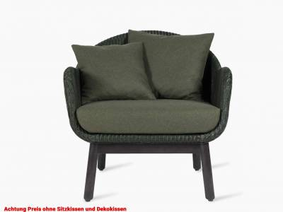 Vincent Sheppard Alex Lounge Chair, black wood base