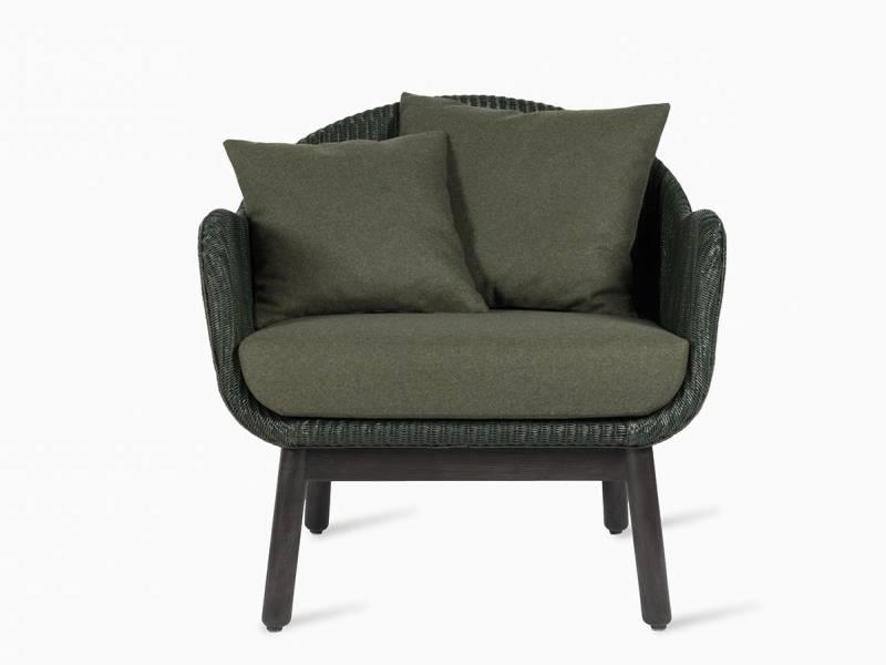 Vincent Sheppard Alex Lounge Chair, dark wood base