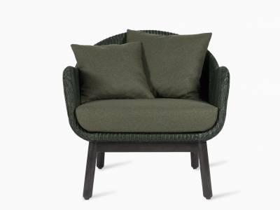 Vincent Sheppard Alex Lounge Chair dark wood base