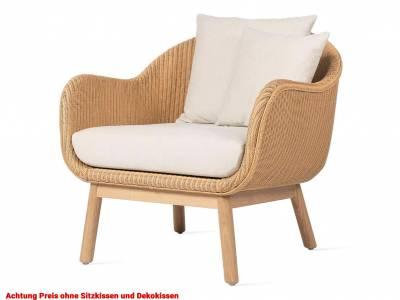 Vincent Sheppard Alex Lounge Chair, oak base