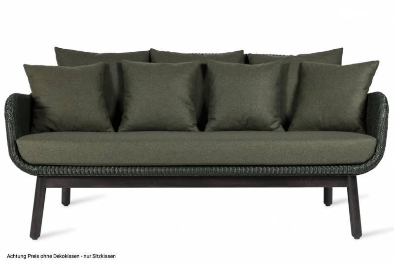 Vincent Sheppard Alex Lounge Sofa, black wood base