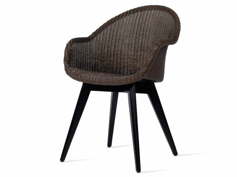 Vincent Sheppard Avril HB Dining Stuhl, black wood base