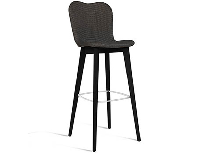 Terrific Dining Lily Black Wood Bar Stuhl Pabps2019 Chair Design Images Pabps2019Com