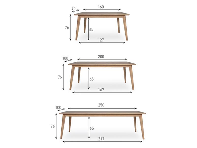 vincent sheppard esstisch dan table 250 x 100 cm rechteckig gartenm bel hamburg shop. Black Bedroom Furniture Sets. Home Design Ideas