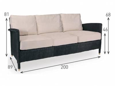 Vincent Sheppard Living, Cordoba Lounge 3S Sofa