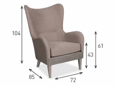 Vincent Sheppard Sessel, Butterfly Wing Chair