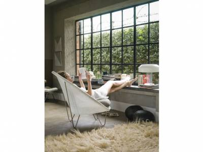 Vincent Sheppard Sessel, Joe Lounge - Gestell: shiny frame