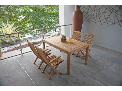 ZEBRA BALI Gartentisch 150x90 cm