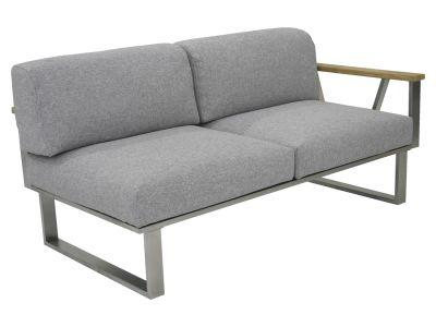ZEBRA BELVEDERE, 2-Sitzer Sofa, Armlehne rechts