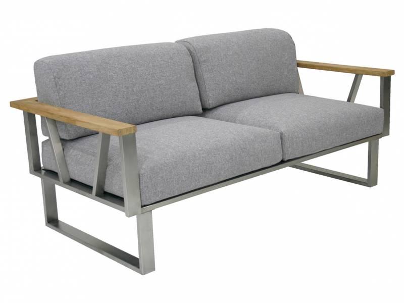 ZEBRA BELVEDERE, 2-Sitzer Sofa mit Armlehnen