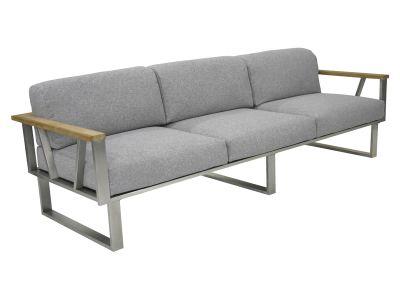ZEBRA BELVEDERE, 3-Sitzer Sofa mit Armlehnen