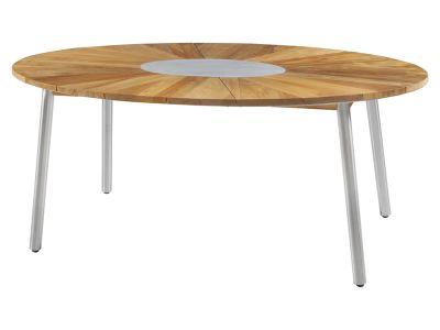ZEBRA Convex Tisch oval