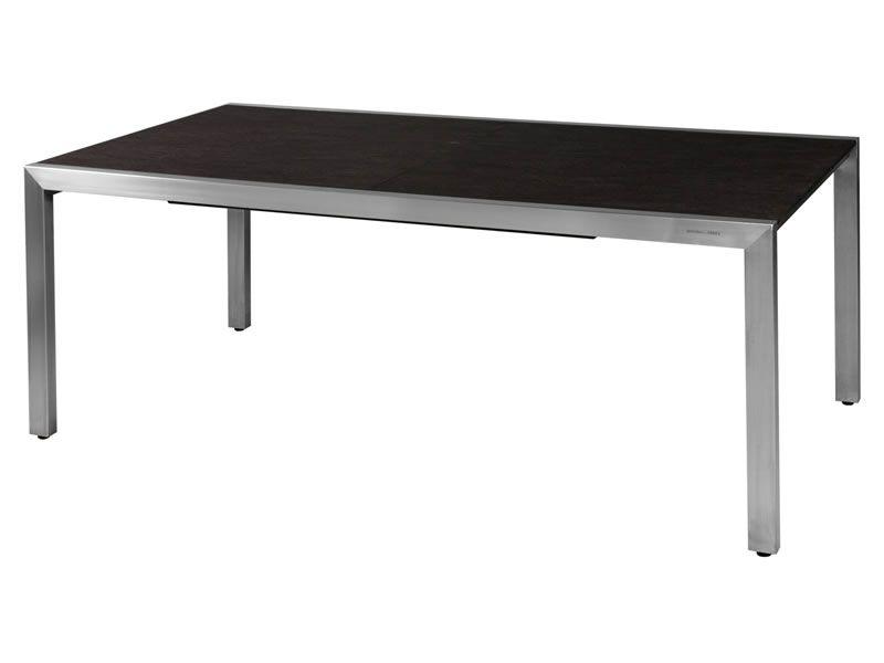 zebra kubex tisch 190 300 cm ausziehbar gartenm bel hamburg shop. Black Bedroom Furniture Sets. Home Design Ideas