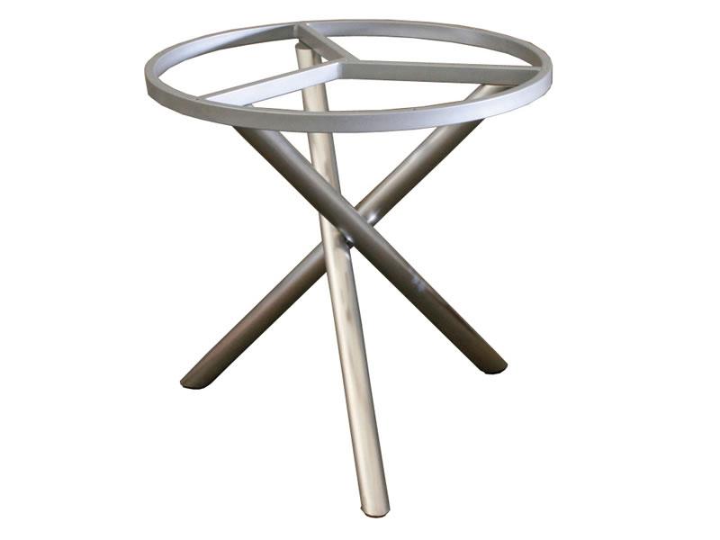 zebra mikado tischgestell edelstahl mit platte 110 cm gartenm bel hamburg shop. Black Bedroom Furniture Sets. Home Design Ideas