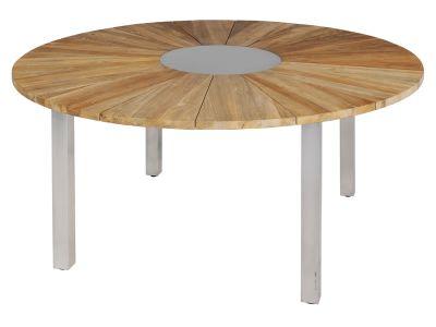 ZEBRA Onyx Tisch, rund