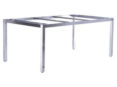 ZEBRA Opus, Tischgestell Edelstahl mit Platte, 180x100 cm