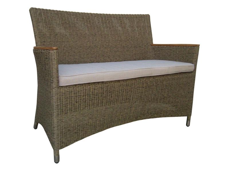 zebra status bank geflecht loom taupe gartenm bel hamburg shop. Black Bedroom Furniture Sets. Home Design Ideas
