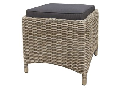 ZEBRA Status Hocker, Geflecht Loom, basalt-grey
