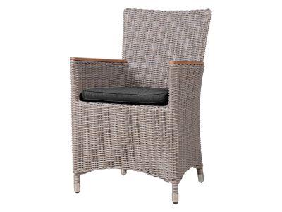 ZEBRA Status Sessel, Geflecht Loom, basalt-grey