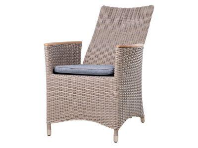 ZEBRA Status Sessel Relax, verstellbare Rückenlehne, basalt-grey