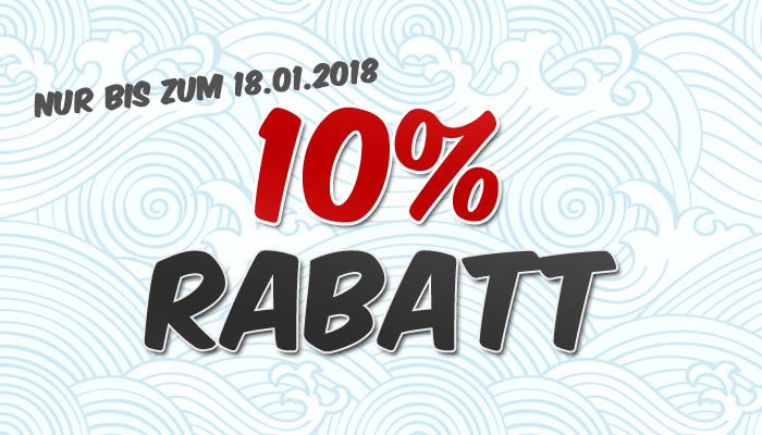 10 Prozent auf alles!