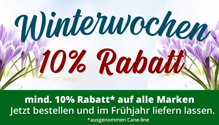 10% Winterwochen-Rabatt