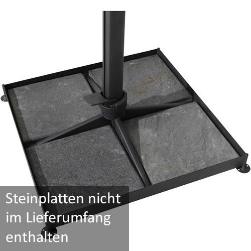 Kreuzfuß (ohne abgebildete Steinplatten)