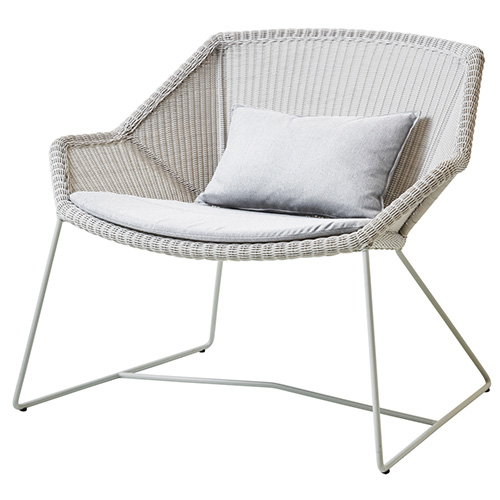 Kissen, Sunbrella Natte, light grey