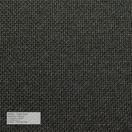 Kissen A669 Dark Grey/ Indoor/ 40x40