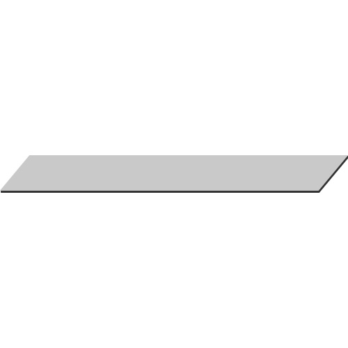Glasplatte 60 x 60 cm