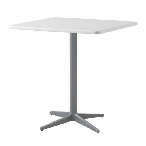 75x75 cm Aluminium White