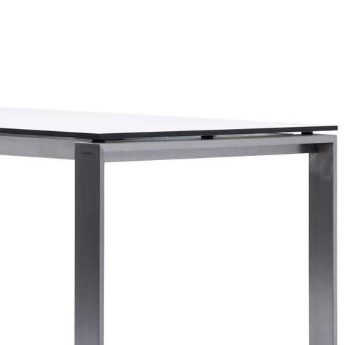 210x100 cm, Weiß, Kompaktlaminat