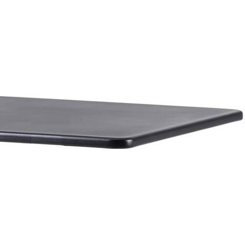 75x75 cm, Aluminium Lava grau
