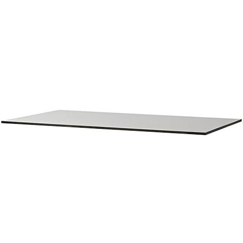 Eckig, 120x75cm, Grau, Kompaktlaminat
