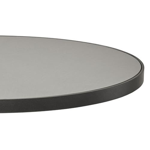 Ø 60cm, Aluminium Lava-grau/Keramik hellgrau