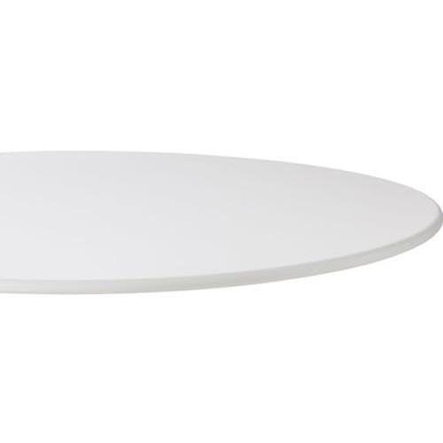 Ø 110 cm, Aluminium weiß