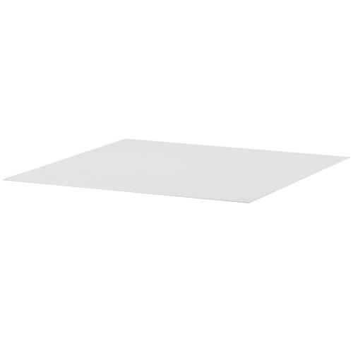 89x89 cm, Weiß, Keramik