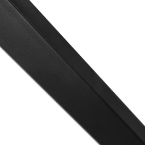 schwarzer Stahl